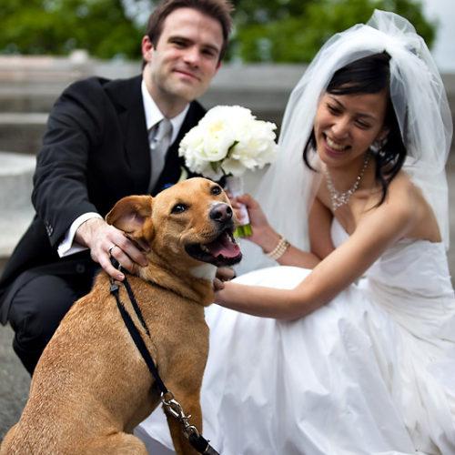Yaeko & Eric's Fort Tryon Park Wedding