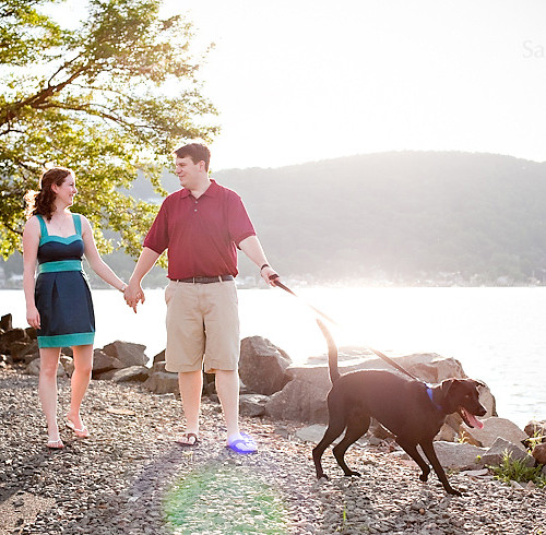 Kelly & Chris' Hudson Valley Engagement Session