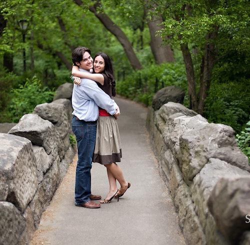 Cristina & Jesse's Central Park Engagement Session