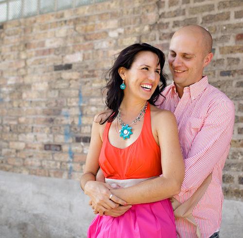 Shelah & Jeff's Chicago Engagement Session