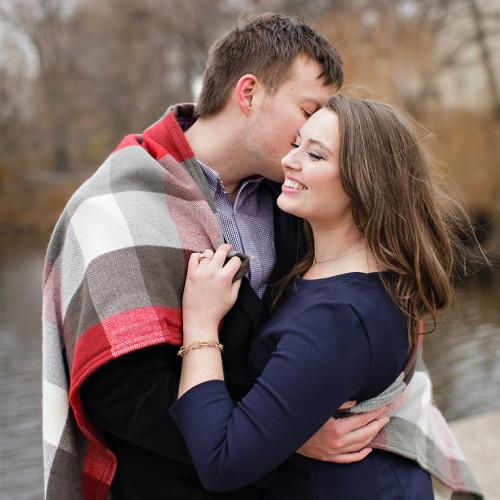 Katie & Aaron's Winter Engagement Session