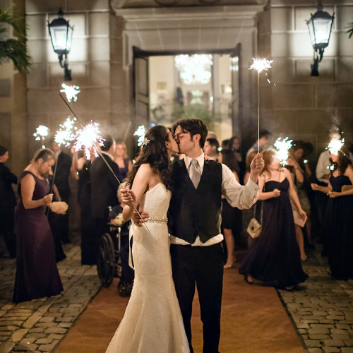 Cristina & Jesse Featured on Wedding Chicks