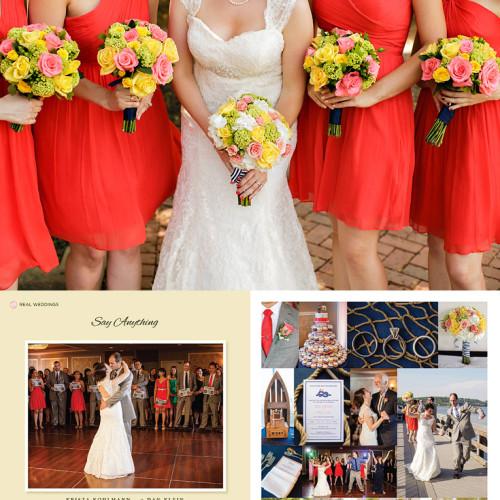 Krista & Dan Published in New Jersey Bride Magazine