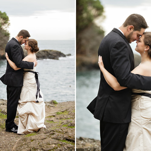 San Juan Island Elopement Wedding Photos | Andrea + Jay