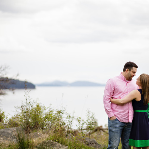 Woodstock Farm Bellingham Engagement Photos | Laura + TJ