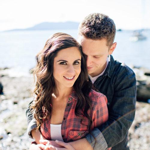 Caitlyn & Matt's Larrabee State Park Engagement Session