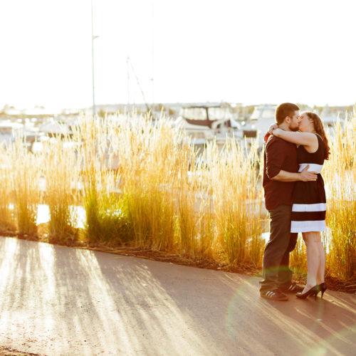 Talisa & Garritt's Bellingham Bay Engagement Session