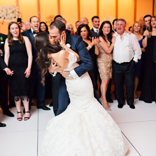 Jessica & Andrew's Woodbury Jewish Center Wedding